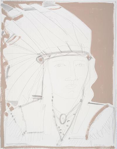 America Martin, 'White Headdress'