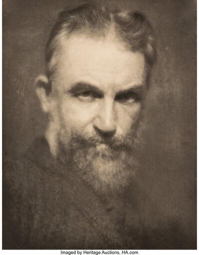 Alvin Langdon Coburn, 'George Bernard Shaw; Auguste Rodin (two portraits)', 1904; 1906