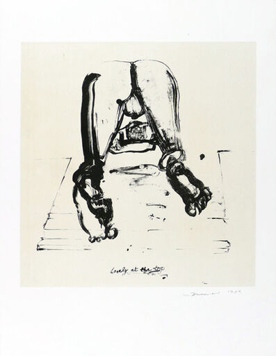 Marlene Dumas, 'Lonely at the Top', 1989