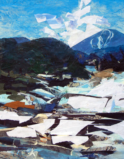 Mariella Bisson, 'Snow, River, Mountain', 2009