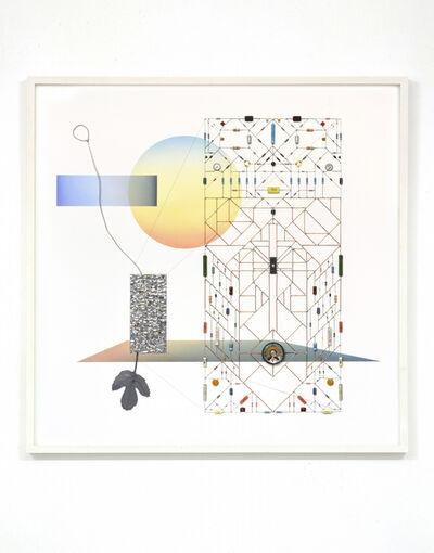 Leonardo Ulian, 'Technological Mandala 108 (Projection)', 2017