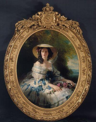 Franz Xaver Winterhalter, 'Portrait of Empress Eugénie', 1857