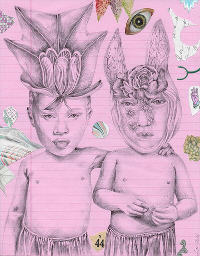 Lori Field, 'Tulip and Bunny', 2020