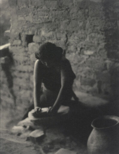 Laura Gilpin, 'The Corn Grinding Song, Mesa Verde National Park', 1925
