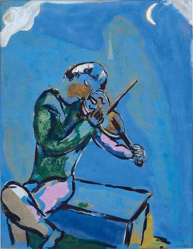 Marc Chagall, 'Le violoniste bleu', 1929