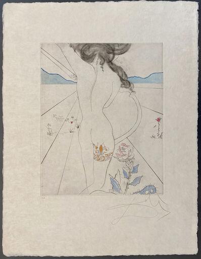 Salvador Dalí, 'Nude with Garter', 1969