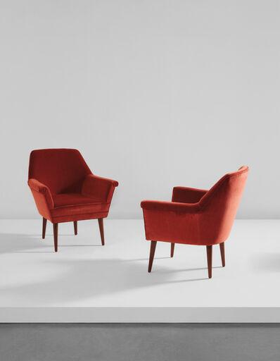 Studio BBPR, 'Pair of armchairs', circa 1962