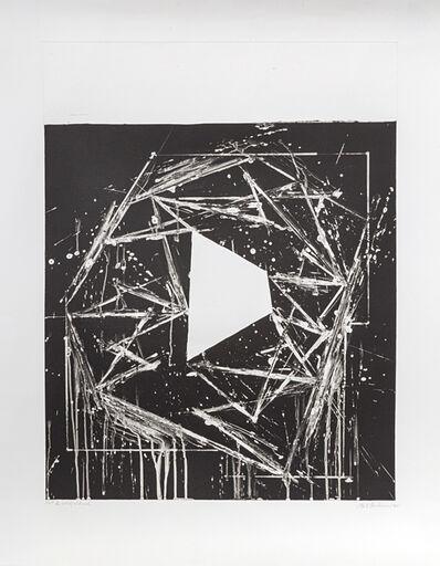 Mel Bochner, 'White Island', 1985
