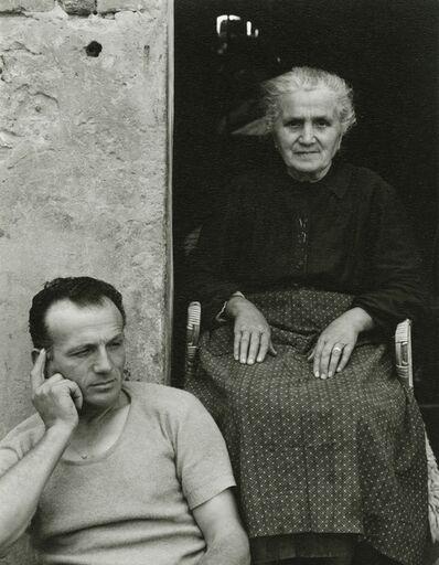 Paul Strand, 'Signora Lusetti and one son, Luzzara, Italy', 1953