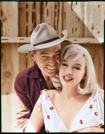 Elliott Erwitt, 'Clark Gable and Marilyn Monroe, Reno, Nevada', 1960