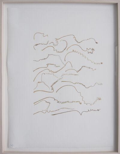 Marian Bijlenga, 'Written Weed #49', 1995