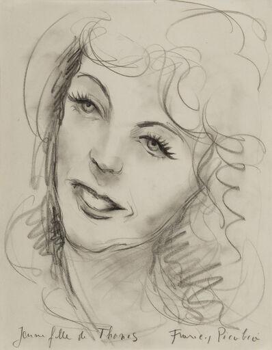 Francis Picabia, 'Jeune fille de Thones', ca. 1941