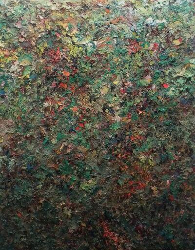 Charles Eckart, 'Paintscape No.23, Green', 2014