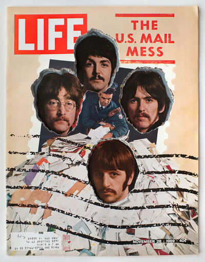 Dennis Koch, 'LIFE  Cutout  No.  049  (November  28,  1969,  Beatles  Los  Paranoids)', 2018