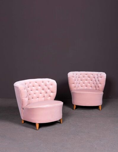 Otto Schulz, 'Four armchairs', vers 1940