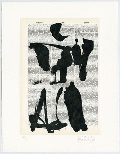 William Kentridge, 'Universal Archive (Ref 02)', 2012