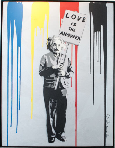 Mr. Brainwash, 'Albert Einstein', 2012