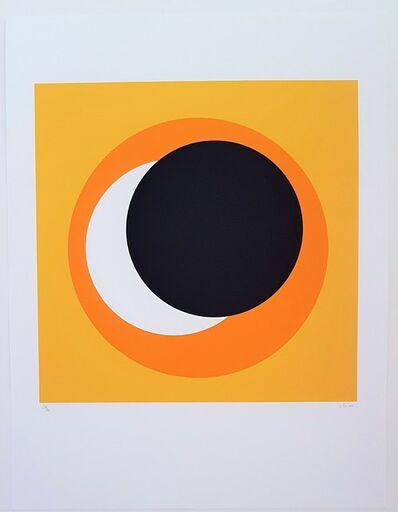 Geneviève Claisse, 'Black and Orange Circle (Cercle noir et orange)', 2015