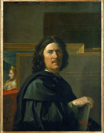 Nicolas Poussin, 'Self-portrait', 1650