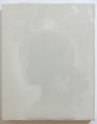 Duane Slick, 'Shadow Portrait of Ms. Luna, age 6', 2018