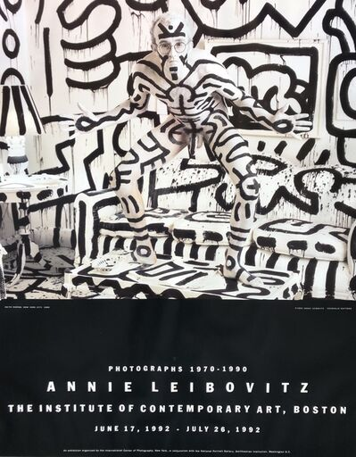 Annie Leibovitz, 'Keith Haring | PHOTOGRAPHS 1970 - 1990', 1992