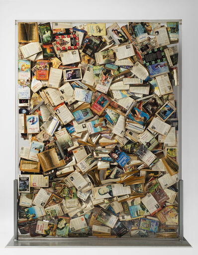 Arman, 'J'ai lu 3x10 Puissance 8', 1998
