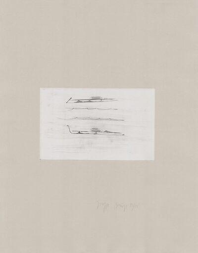 Joseph Beuys, 'Zirkulationszeit: Urschlitten I', 1980-1990