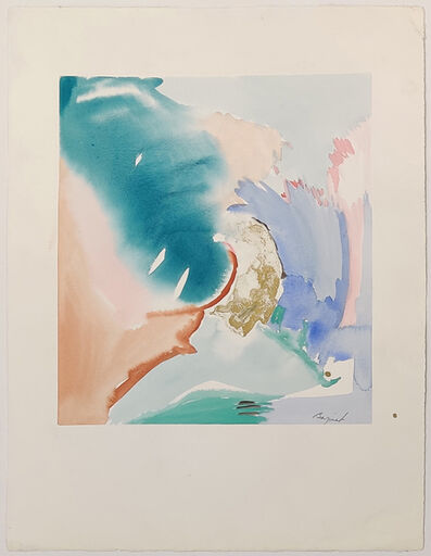 Jane Bazinet, 'UNTITLED (ABSTRACT WATERCOLOR)', ca. 1980