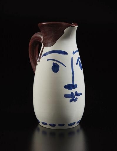 Pablo Picasso, 'Pichet Visage bleu (Face tankard)', 1959