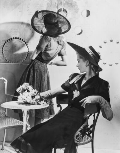 Horst P. Horst, 'Summer Hats, Fonssagrives (Lisa) & Lane', 1940 (printed later)