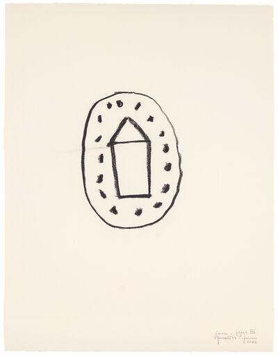 Joan Hernández Pijuan, 'Casa i flors III. 103', 2000