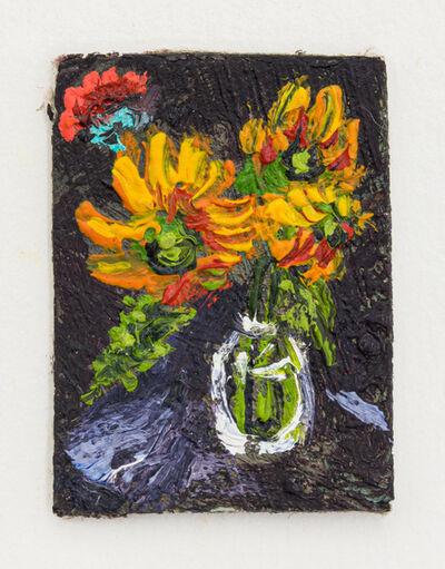 Jorge Diezma, 'Flowers on a vase', 2019