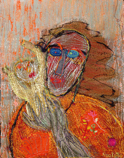 Alice Kettle, 'Mother and. Child, Orange', 2020