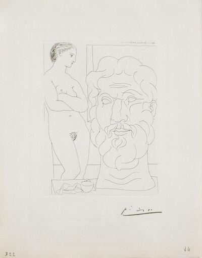 Pablo Picasso, 'Modele et Grande Tête Sculptée ', 1933