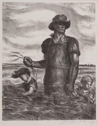 John Steuart Curry, 'Our Good Earth', 1942
