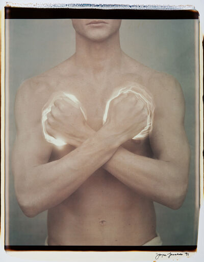 Joyce Tenneson, 'Man with Lit Fists', 1991