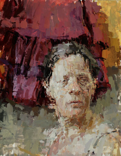 Ann Gale, 'Shawna with Purple', 2020