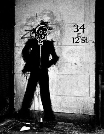 Hank O'Neal, 'Richard Hambleton and Jean Michel Basquiat - Skull ', 2015
