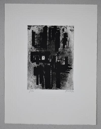 Pierre Soulages, 'Eau-forte n°IV', 1957