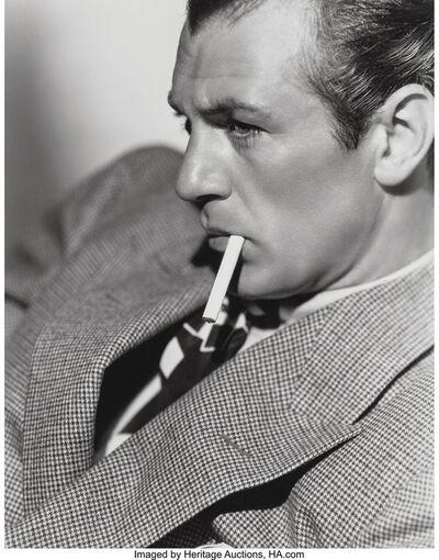 Clarence Sinclair Bull, 'Gary Cooper', 1938