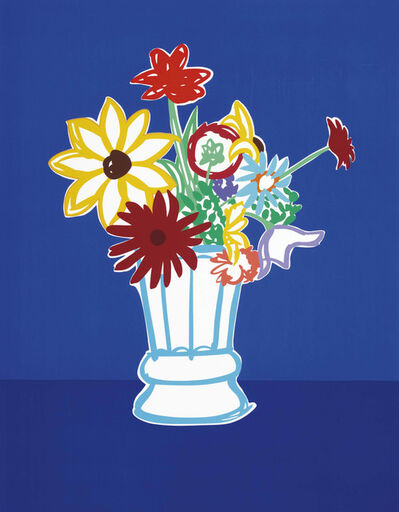 Tom Wesselmann, 'Country Bouquet with Blue ', 1991