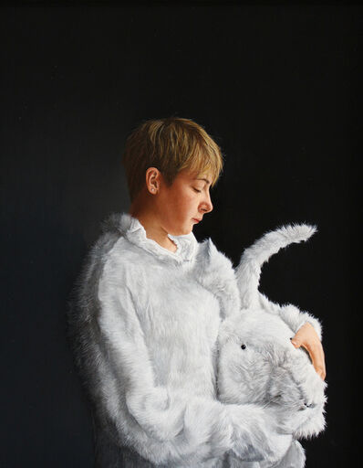 Charles Moxon, 'Girl in Bunny Costume II', 2015