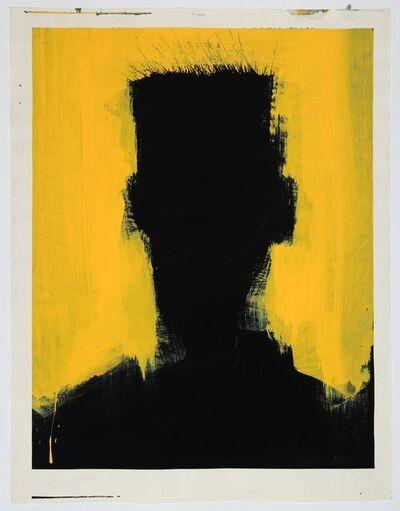 Richard Hambleton, 'Shadow Head (Yellow Flat Top)', 1952-2017