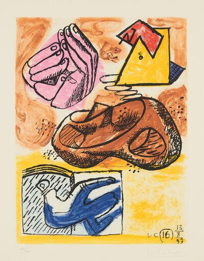 Le Corbusier, 'Unité, plate 16', 1963