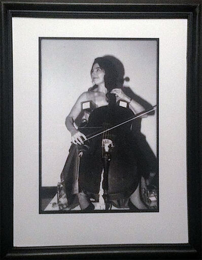 Paul Garrin, 'Charlotte Moormon, TV Bra & Cello, Whitney Museum', 1982