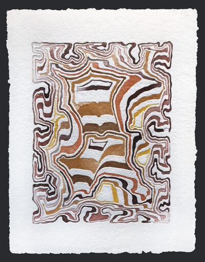 James Siena, 'Feedback Loop Resonator, third version (III)', 2017