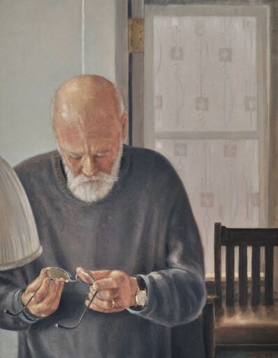 Willard Dixon, 'Bob 'portrait of Robert Bechtle'', 2009
