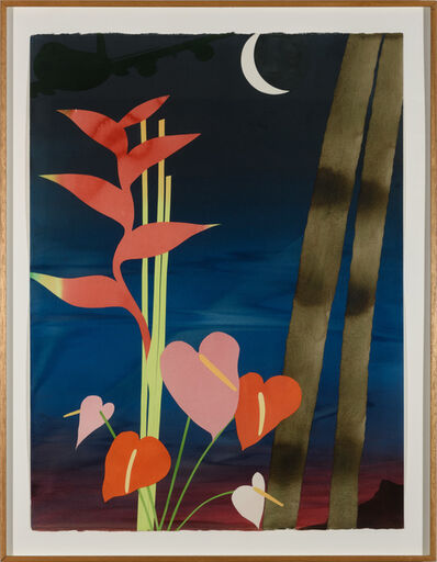 Billy Al Bengston, 'Ka' ao Watercolor', 1984