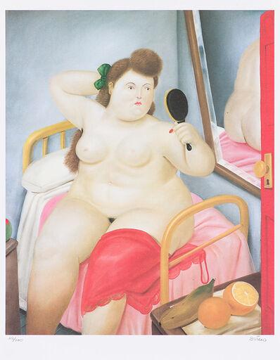 Fernando Botero, 'Botero with 'La Toilette'', 1982-1984