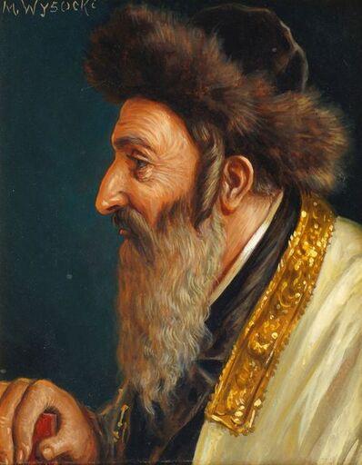 M Wysocki, 'Portrait of a Rabbi', early 20th century